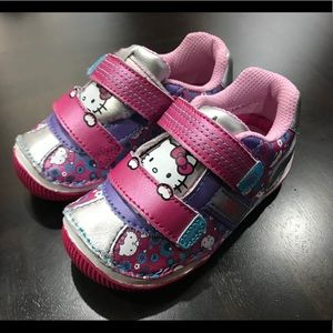 Stride Rite Hello Kitty Girls Sneakers Size 6 1/2M